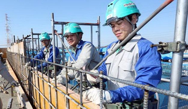XKLĐ Nhật Bản: Thuận và bất lợi trong ngành xây dựng