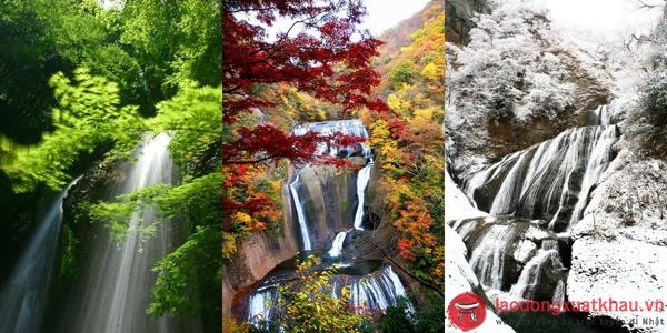 Thác Fukuroda-khám phá những điều đặc sắc nhất tại Ibaraki -Nhật Bản