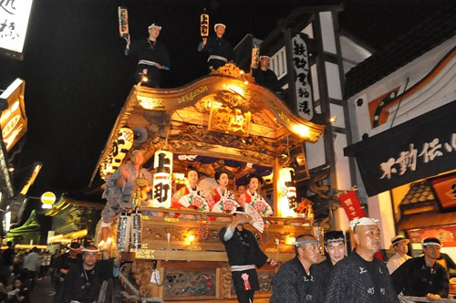 Lễ hội Shimodate Gion tại Nhật bản