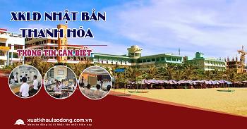 Tuyển gấp 200 lao động đi xuất khẩu Nhật Bản tại tỉnh Thanh Hóa
