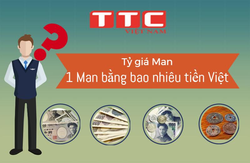 Tỷ giá tiền yên Nhật - Một Man bằng bao nhiêu tiền Việt Nam