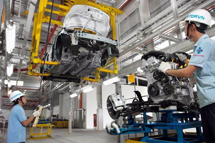 Cơ hội cho lao động Việt Nam với ngành công nghiệp ô tô Nhật Bản