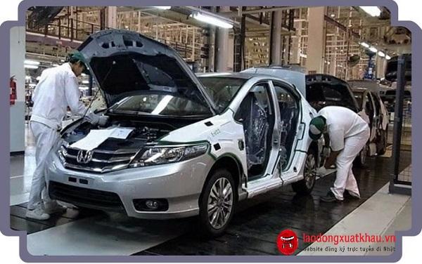 Xuất khẩu lao động Nhật Bản ngành ô tô khó không?