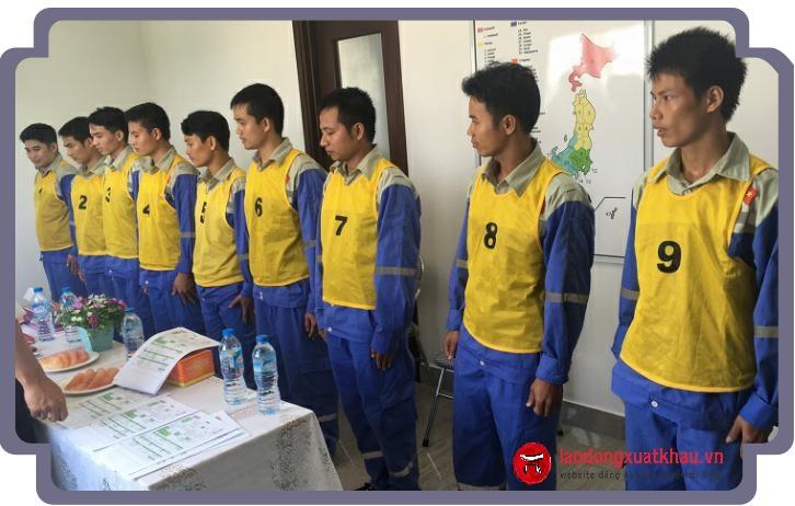 Hoạt động thi tuyển tại TTC Việt Nam ngày 22/08/2017