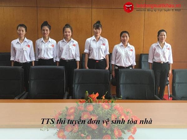 Hoạt động XKLĐ tại TTC Việt Nam ngày 28/08/2017