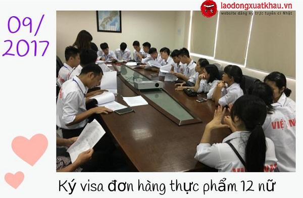 Hoạt động XKLĐ tại TTC Việt Nam ngày 04/09/2017