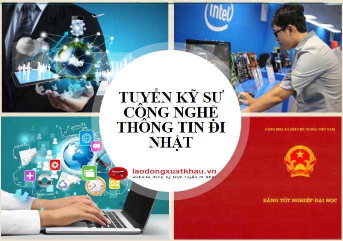 Tuyển kỹ sư công nghệ thông tin sang nhật gồm những ngành nghề nào?