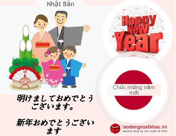 Những lời chúc mừng năm mới bằng tiếng Nhật hay và ý nghĩa nhất