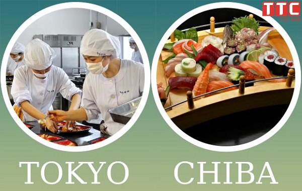 So sánh công việc chế biến thực phẩm tại Tokyo và Chiba