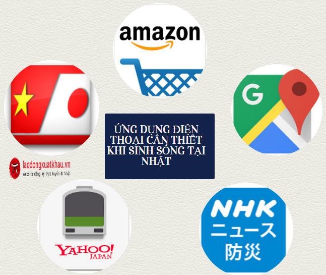 TOP ứng dụng điện thoại cần thiết khi bạn sinh sống tại Nhật Bản