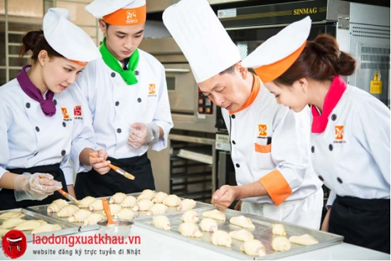 Đơn hàng nam/nữ làm bánh bao tại Nhật Bản lương 29 triệu/tháng