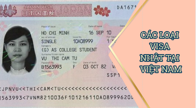 Các loại visa đi Nhật tại Việt Nam - Những thông tin không thể bỏ qua