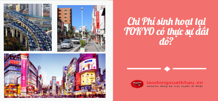 Chi phí sinh hoạt tại Tokyo Nhật Bản có thực sự đắt đỏ?