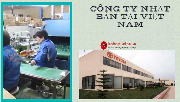 Điểm danh sách các công ty Nhật Bản hoạt động tại Việt Nam?