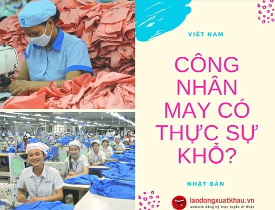 Công nhân may Việt Nam - Nhật Bản: 1 công việc - 2 số phận