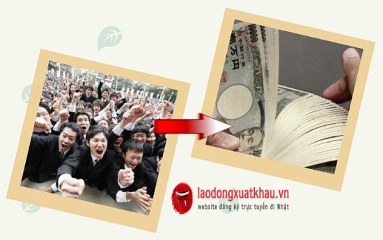 Lương cơ bản của người Nhật là bao nhiêu?