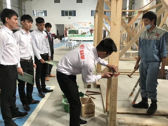 Hoat động thi tuyển ngày 14/12 tại TTC Việt Nam
