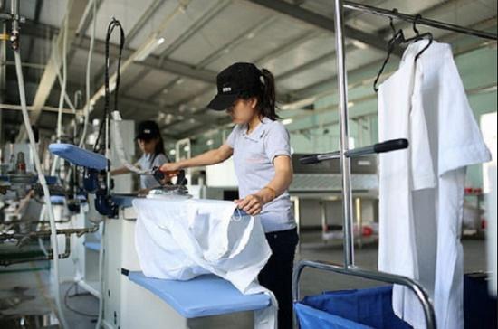 Thi tuyển đơn hàng giặt là cho nữ - bài thi thực hành