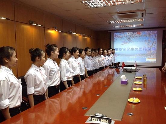 Phần thi phỏng vấn đi XKLĐ Nhật Bản tại TTC Việt Nam