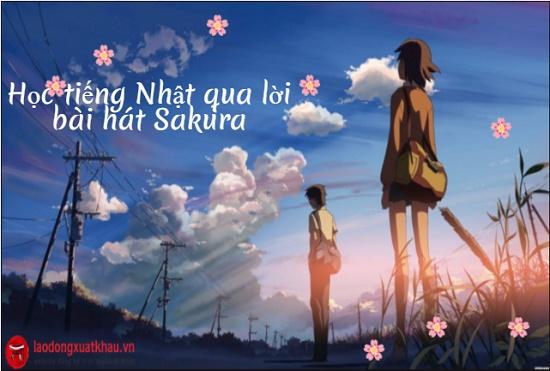 Học tiếng Nhật qua bài hát Sakura - nhạc phim kinh điển của Nhật Bản