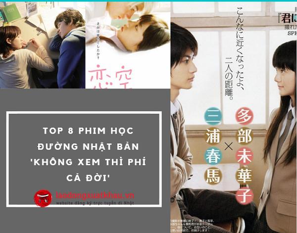 """Top 8 phim học đường Nhật Bản 'không xem thì phí cả đời': Bạn đã """" cày"""" chưa?"""