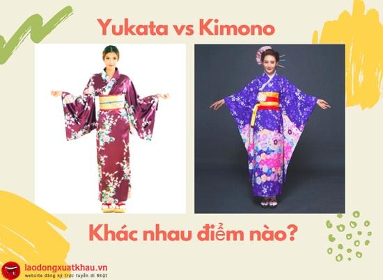 Yukata là gì? Yukata và Kimono khác nhau ở điểm nào?