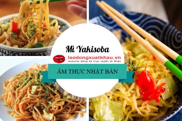 Mì Yakisoba - Món ăn quốc dân được ưa chuộng ở Nhật Bản