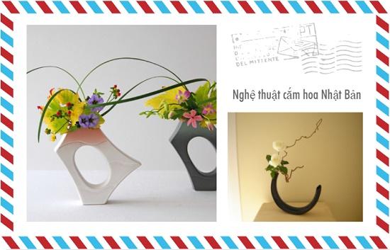 Nghệ thuật cắm hoa Nhật Bản - tinh hoa hội tụ