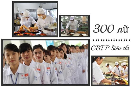 Sốc: Tuyển 300 nữ chế biến cơm hộp tại siêu thị Nhật Bản