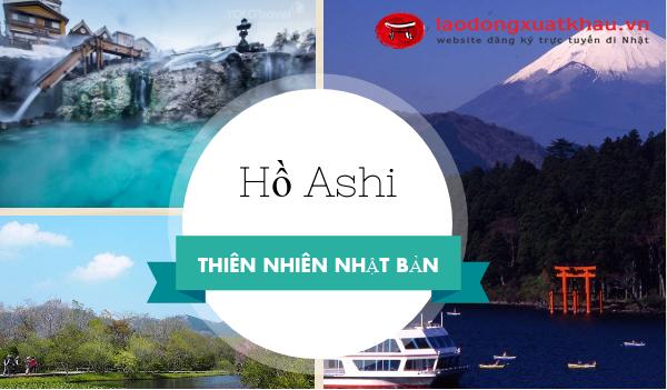 Chiêm ngưỡng vẻ đẹp trầm mặc của hồ Ashi Nhật Bản