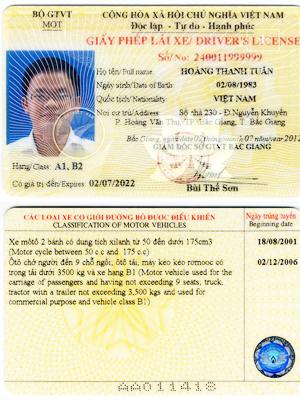 Thủ tục đổi bằng lái xe ô tô Việt Nam sang bằng lái Nhật Bản