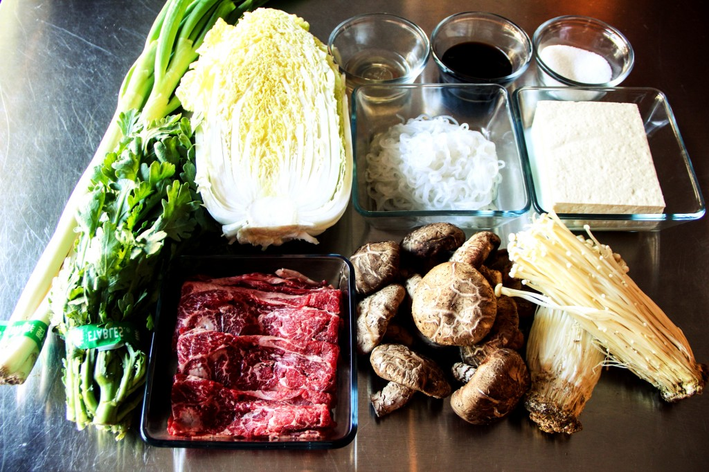 Image result for Lẩu bò sukiyaki