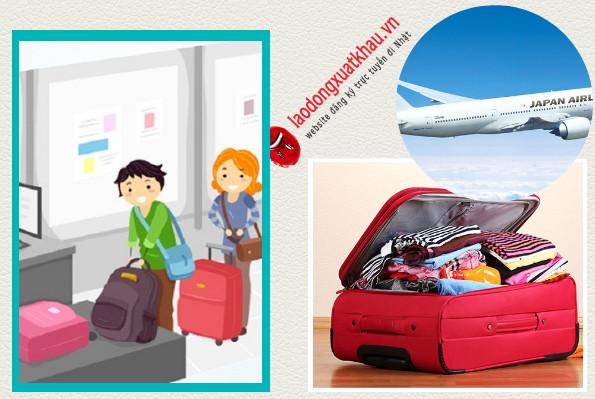 Đi Nhật cần chuẩn bị những gì? Danh sách đồ cần mang cho người đi XKLĐ Nhật Bản.