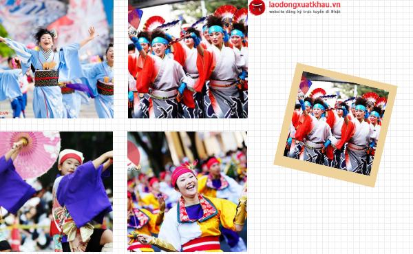 Ngất ngây với những lễ hội mùa thu đang diễn ra ở Nhật Bản