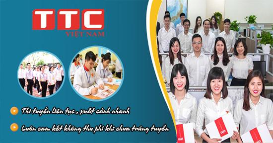 TTC Việt Nam cam kết trúng tuyển 100% xuất khẩu lao động Nhật Bản