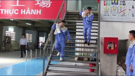 Bài thi thể lực dành cho lao động Nam đi xuất khẩu lao động Nhật Bản