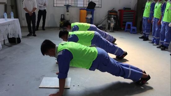 Thi thể lực đơn hàng hoàn thiện nội thất tại TTC Việt Nam