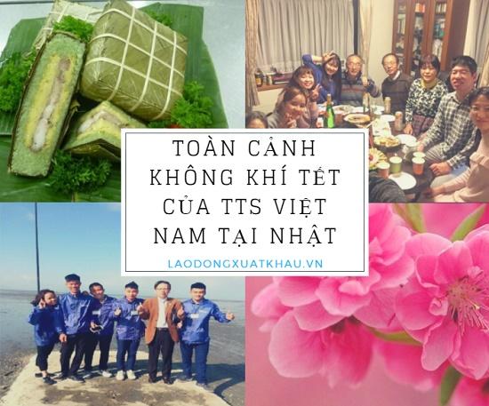 Thực tập sinh Việt Nam ở Nhật Bản ăn tết ra sao?
