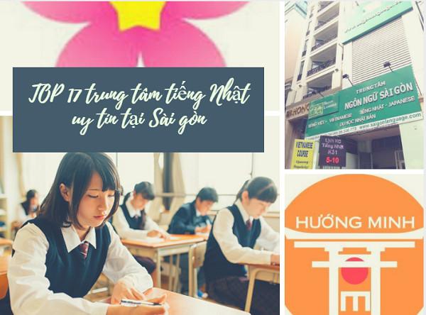TOP 17 trung tâm tiếng Nhật uy tín tại Sài gòn- Bạn biết chưa?