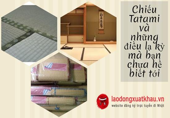 Chiếu tatami và chuyện về linh hồn ngôi nhà của người Nhật