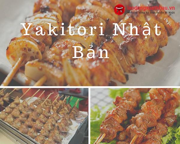 Yakitori Nhật Bản - Món Ngon Đường Phố Nổi Tiếng Nhật Bản