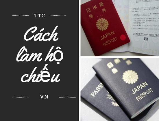Chi tiết cách làm hộ chiếu đi Nhật không sót 1 bước