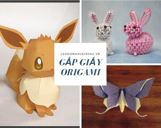 7 cách gấp giấy origami đẹp mà đơn giản cho người không có hoa tay