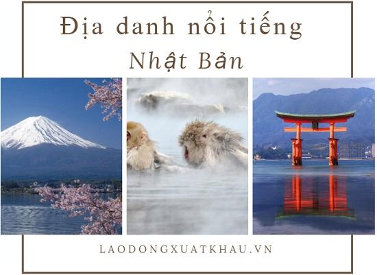 Top 21 địa danh nổi tiếng Nhật Bản - đẹp đến nao lòng
