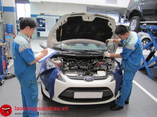 Tiếp nhận hồ sơ 18 Nam làm sửa chữa ô tô tỉnh Akita
