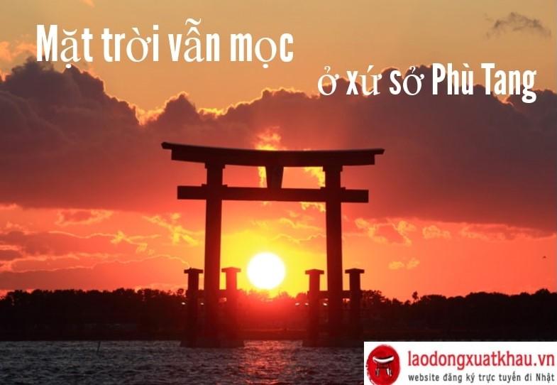 Mặt trời vẫn mọc ở xứ sở Phù Tang