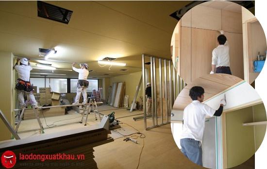 Siêu khủng: Đơn hàng tuyển 90 nam làm hoàn thiện nội thất tại tỉnh Kanagawa