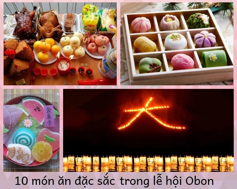 10 món ăn đặc sắc trong lễ hội Obon