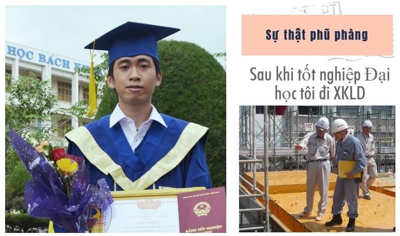 Sự thật phũ phàng: Sau khi tốt nghiệp Đại học tôi đi XKLĐ Nhật Bản
