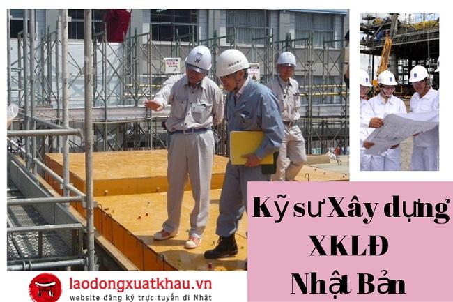 Tuyển kỹ sư xây dựng đi Nhật Bản năm 2020 lương 50 triệu/tháng